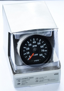 Drehzahlmesser incl Ring // RPM Meter incl. mounting