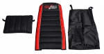 Sitzpolsterset inkl. Saddlebag / Seat Cushion Set incl. Saddlebag Bullix